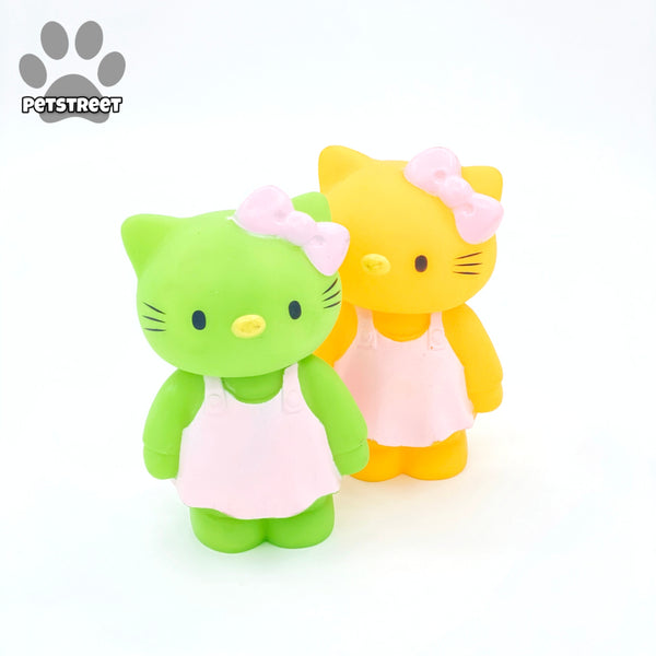 Dogista Squeaky Toy - Hello Kitty