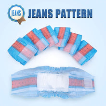 Load image into Gallery viewer, Dono Denim Jeans Pet Diapers