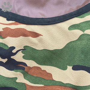 Camouflage Coat - Green