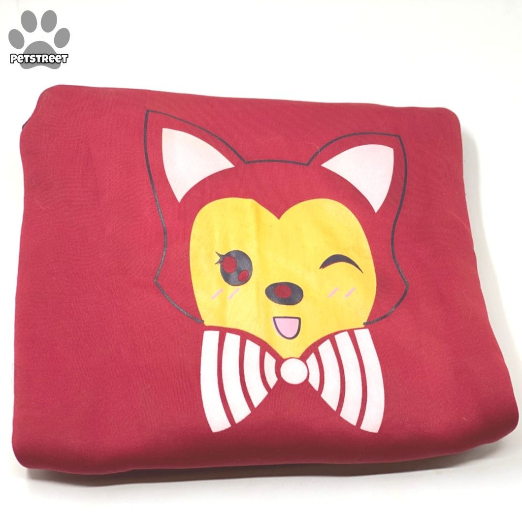 Meow Hoodie - Red