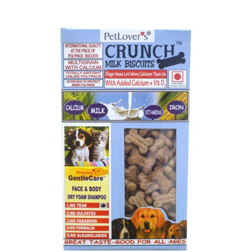 PetLover's Crunch Biscuits - Milk