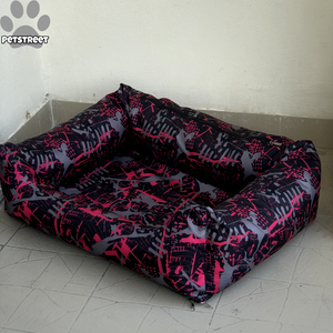 Pink Splash Waterproof Bed