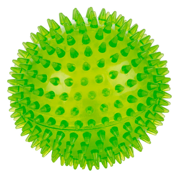 Rubber Toy - Squeaky Spikey Ball