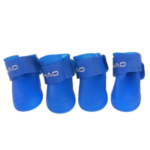 Silicone Shoes - Blue