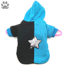 Load image into Gallery viewer, Silver Star Hoodie Jacket