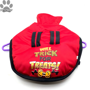 """Trick for Treat"" Coat - Red"