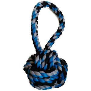 Tug Toy With Rope Ball