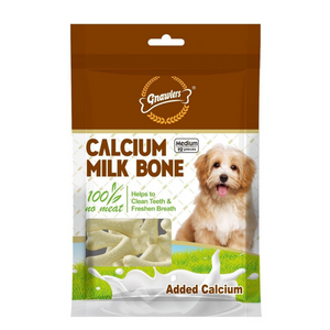 Gnawlers Calcium Milk Bone - Medium