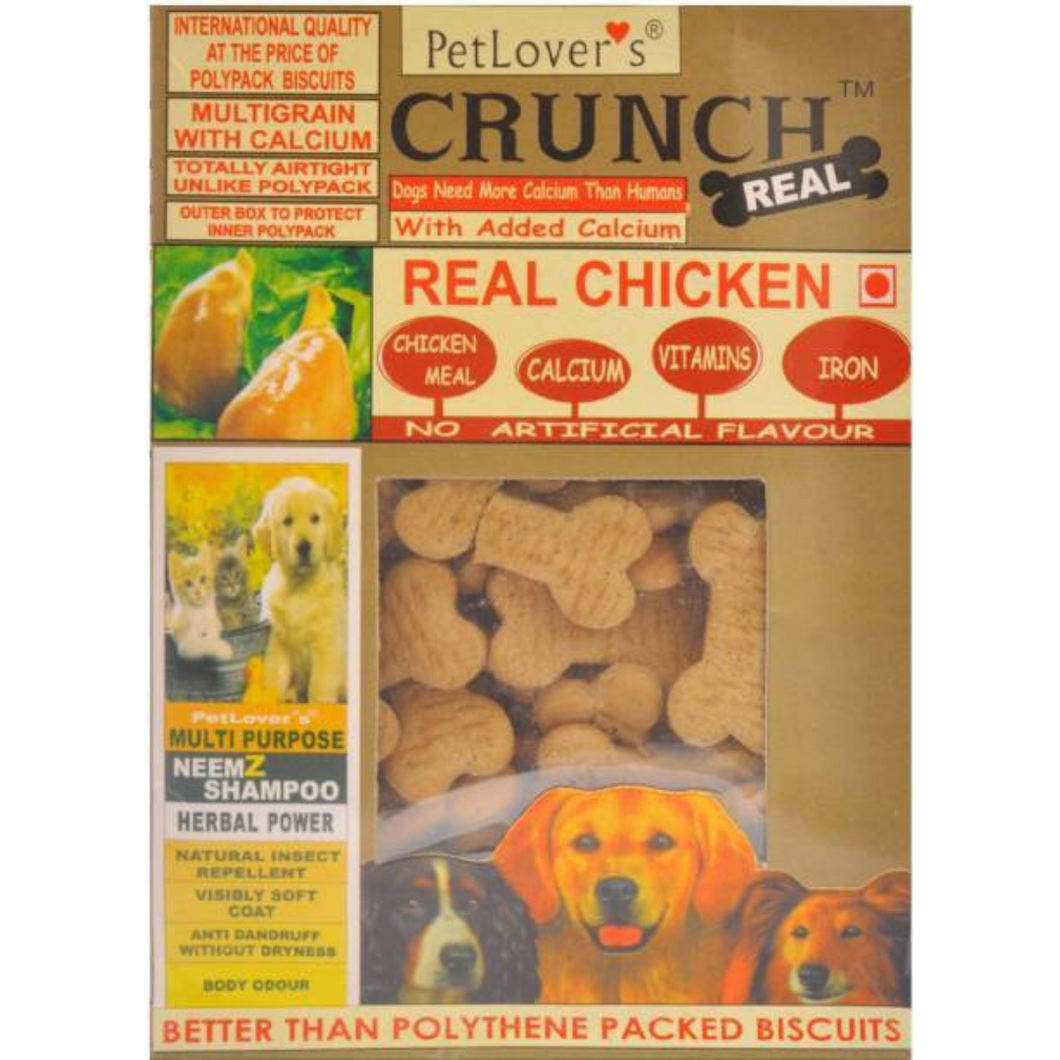 PetLover's Crunch Biscuits - Real Chicken