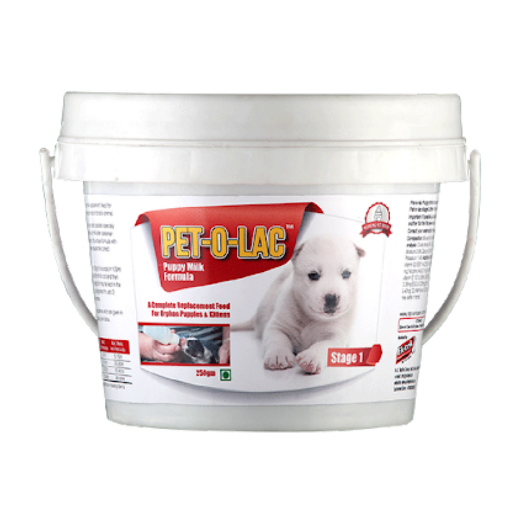Pet-O-Lac Puppy Milk Formula - Stage 1