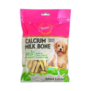 Gnawlers Calcium Milk Bone - Small