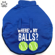 "Load image into Gallery viewer, ""Where's My Balls?"" Coat"