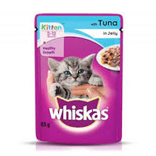Load image into Gallery viewer, Whiskas Kitten - Tuna In Jelly
