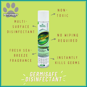 Basil Germisafe Multi-Surface Disinfectant Spray