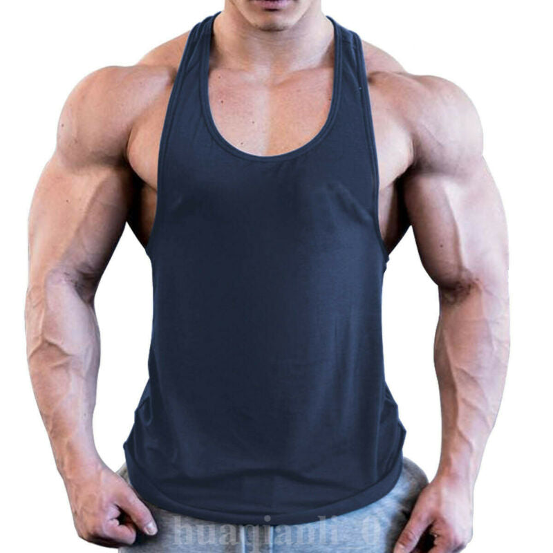 "Fit Bureau ""Shredded"" Mens Stringer Tank 