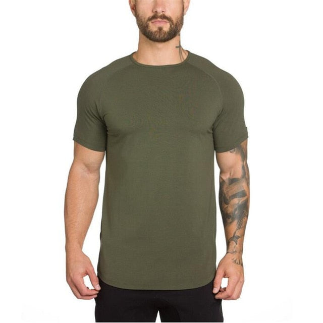 Valiant Armor Midwest Elongated Tee | Army Green