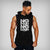 "Fit Bureau ""No Pain No Gain"" Hooded Tank 