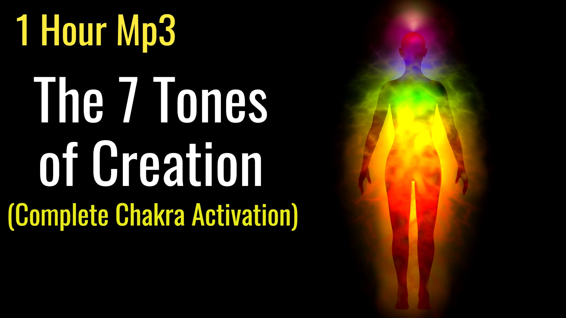 The 7 Tones of Creation  Complete Chakra Activation (God's Healing Frequencies) Solfeggio Healing 1 Hour