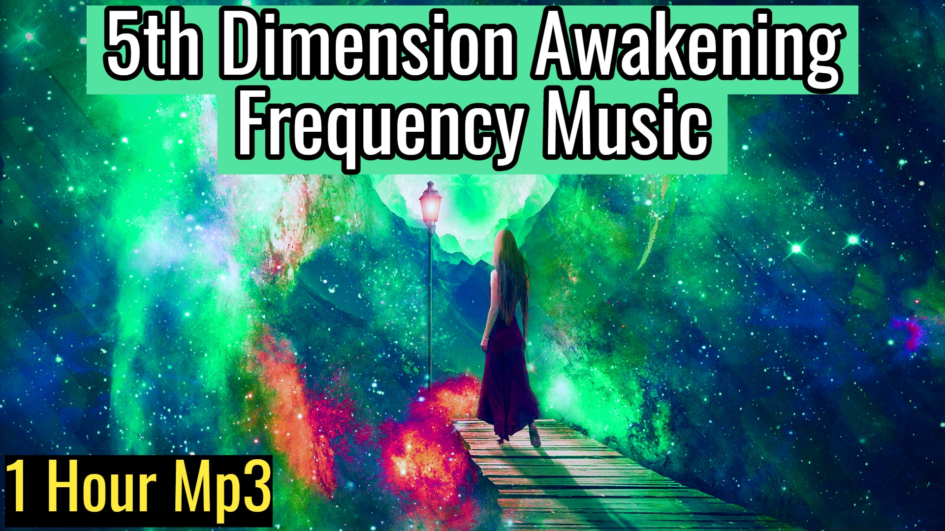 5th Dimension Awakening Frequency Music (Meditation Music for Awakening) 1 Hour track