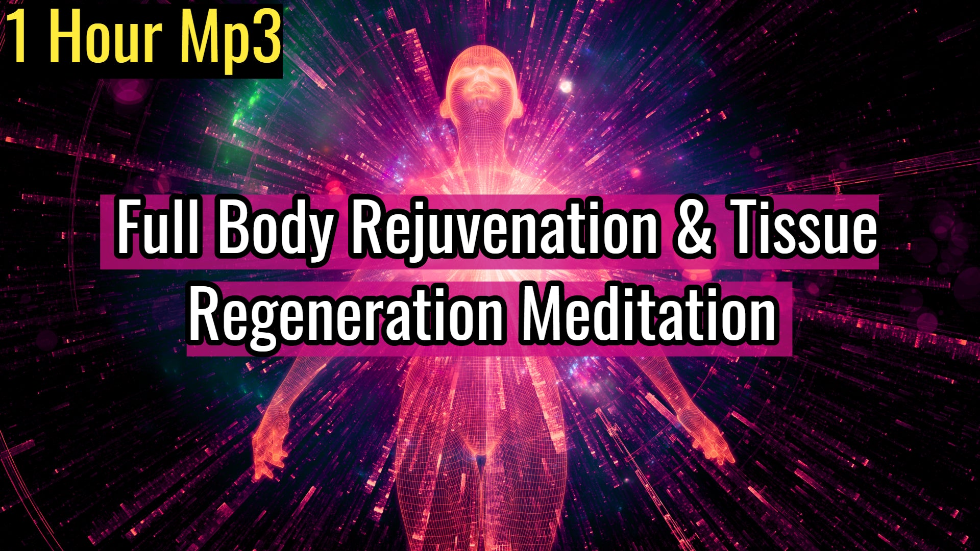 Full Body Rejuvenation & Tissue Regeneration Meditation | 528Hz Emotional & Physical Healing Music (1 Hour Track)
