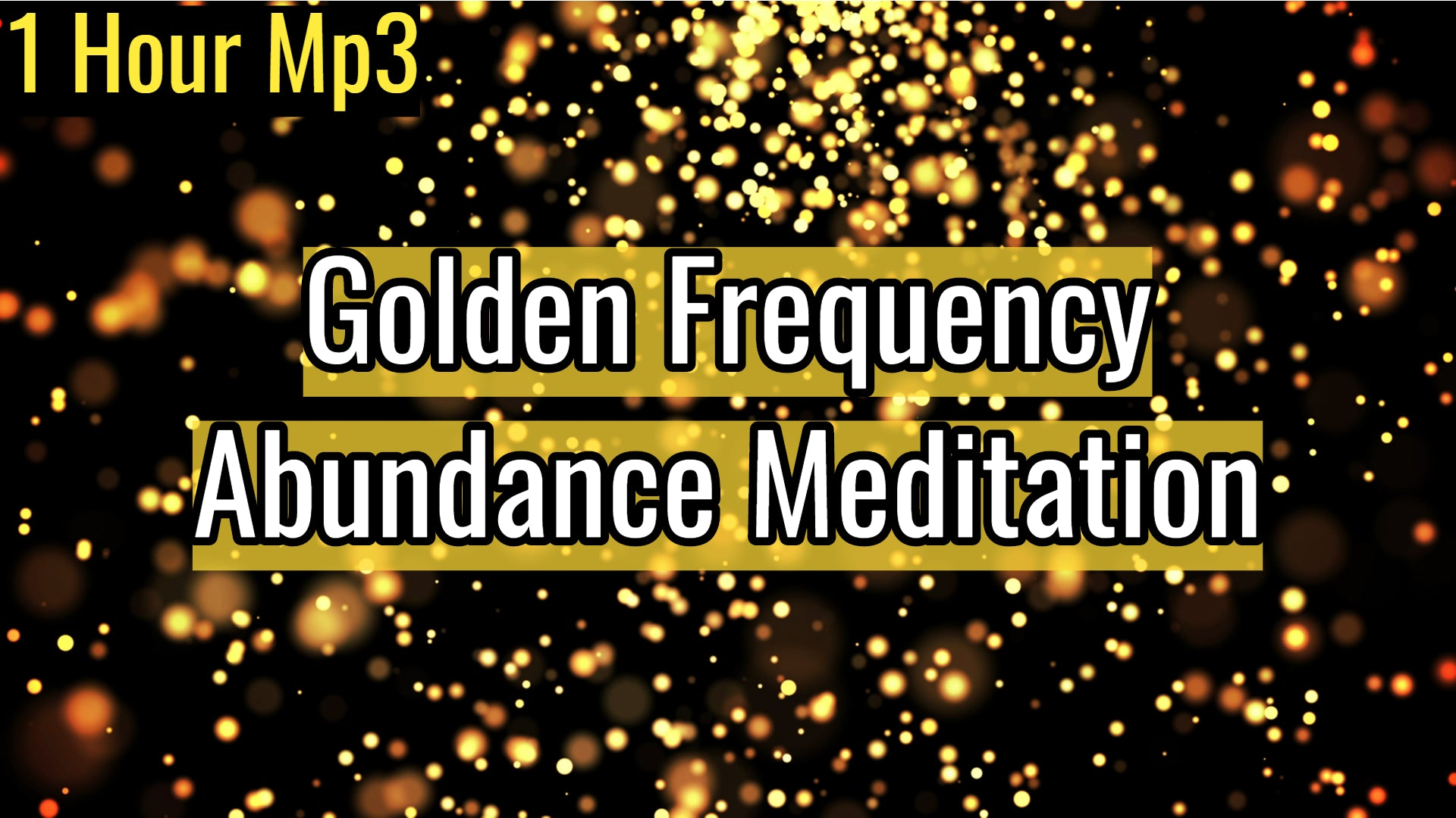 Golden Frequency Abundance Meditation Music | Financial Prosperity | 528Hz Solfeggio Miracle Tone (1 Hour Track)