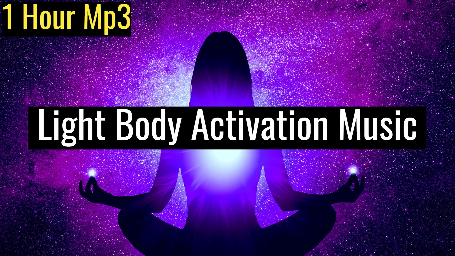 Light Body Activation to Achieve Ascension (Raise Your Vibration) | 528Hz Powerful Awakening Music (1 Hour Track)