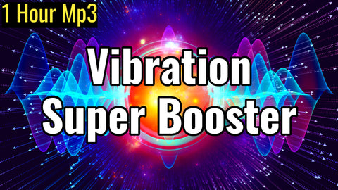 Vibration Super Booster | Healing Sound Therapy | Raise Positive Vibration | 432Hz & 528Hz Frequency (1 Hour Track)