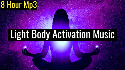Light Body Activation to Achieve Ascension (Raise Your Vibration) | 528Hz Powerful Awakening Music (8 Hour Track)