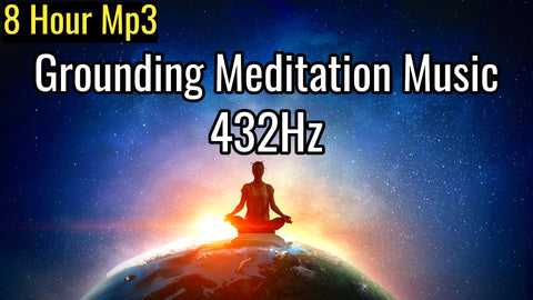 Grounding Meditation Music, Present Moment Awareness, Expand Consciousness Music, Frequency Music (8 Hour Track)
