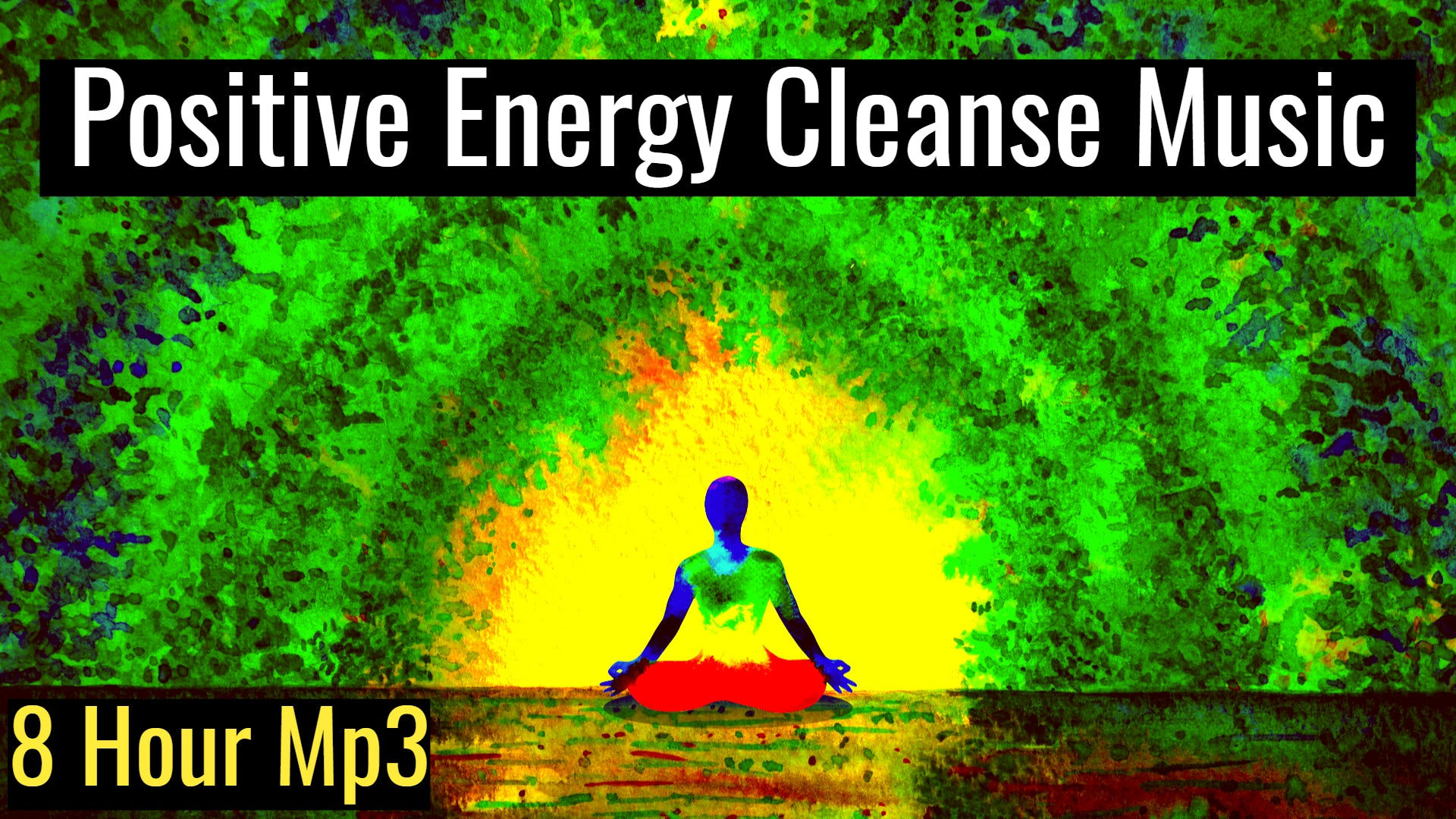 Positive Energy Cleanse (432Hz Meditation Music), Ancient Frequency Meditative Music for Healing (8 Hour Track