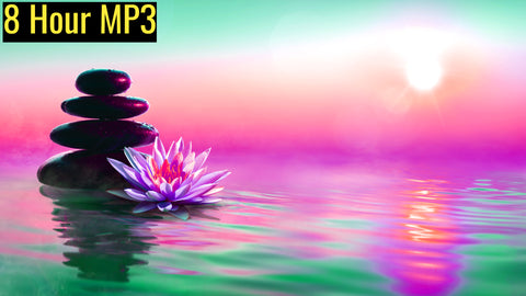 8D Stress Relief Relaxing Meditation with 396Hz - Full 8 Hours