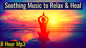 Relaxing Meditation Music for Stress Relief | Soothing Music to Relax & Heal (8 Hour Track)