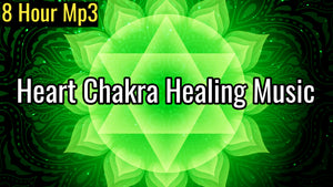 Heart Chakra Healing Music | Attract Love in All Forms | Anahata Chakra Meditation Music (8 Hour Track)