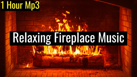 Fireplace Gathering, Relaxing Music with Sounds of Cracking Fire | 639Hz Harmonize Relationships (1 Hour Track)