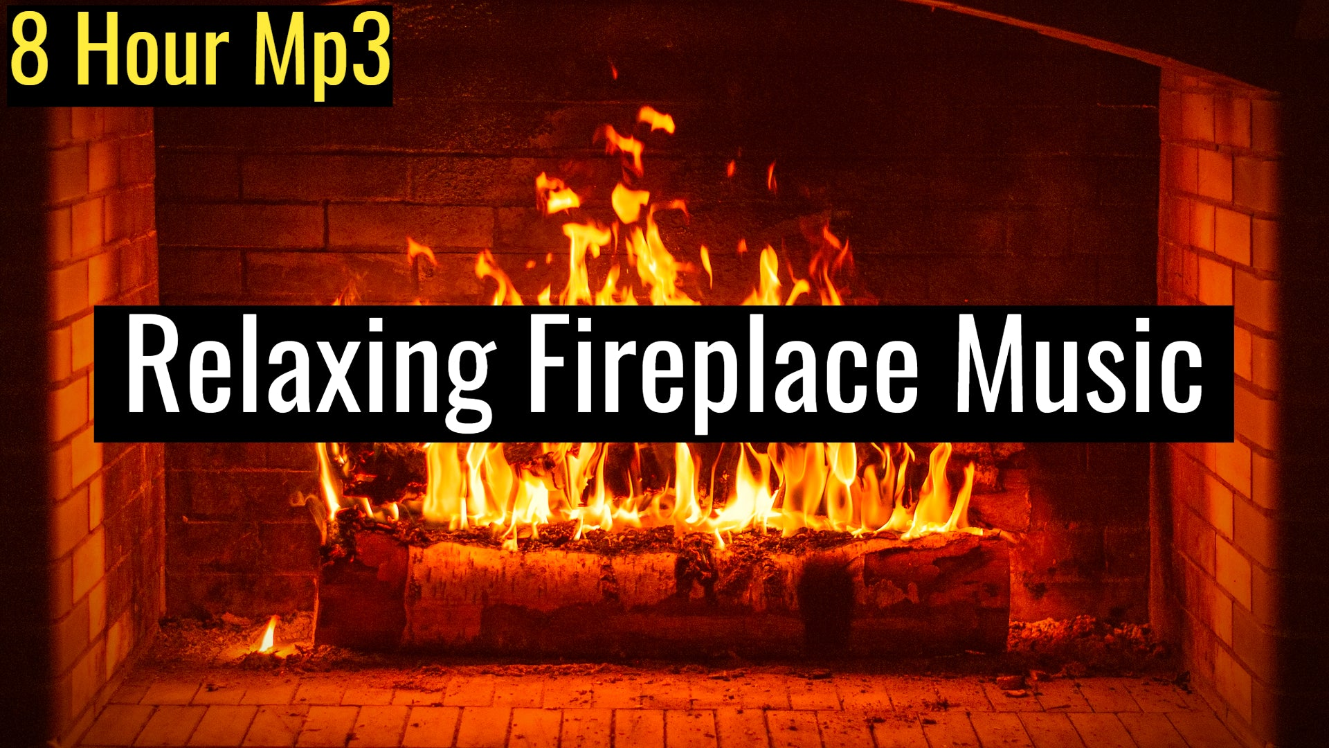 Fireplace Gathering, Relaxing Music with Sounds of Cracking Fire | 639Hz Harmonize Relationships (8 Hour Track)