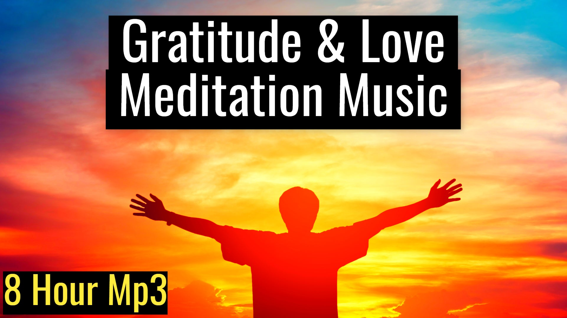Gratitude & Love Meditation Music | Manifest Abundance, Love and Harmony (8 Hour Track)