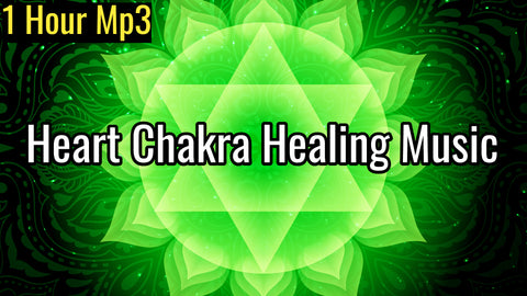 Heart Chakra Healing Music | Attract Love in All Forms | Anahata Chakra Meditation Music (1 Hour Track)