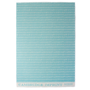 Patterned paper seed aquamarine