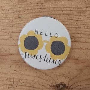 Hello Sunshine pocket mirror
