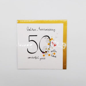 50th Golden anniversary card (2)