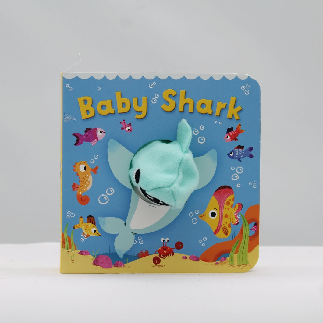 Baby shark finger puppet book
