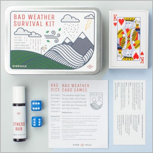 Bad weather survival kit