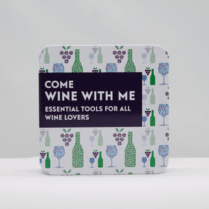 Come wine with me in a tin