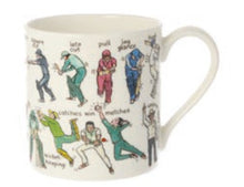 Load image into Gallery viewer, The art of cricket mug