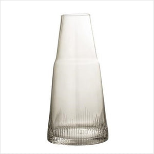 Glass decanter - brown