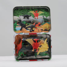 Load image into Gallery viewer, Dinky dinos in a tin