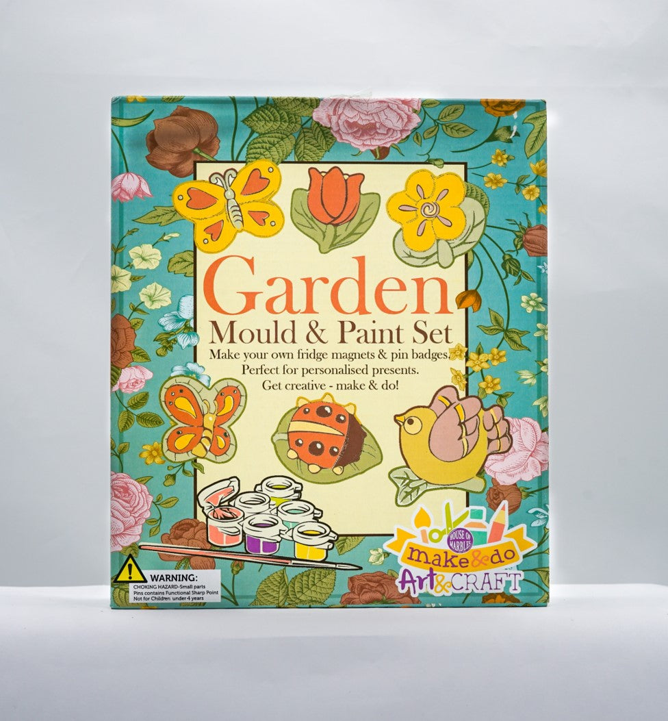 Mould & paint set - garden