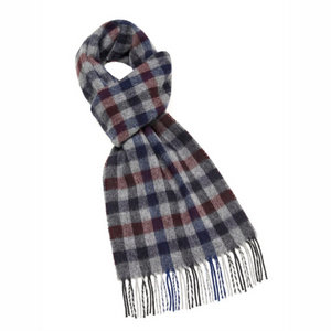 Worcester scarf - charcoal