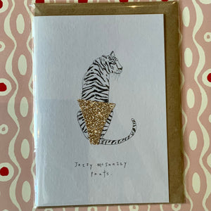 Jazzy Mcsnazzy pants card