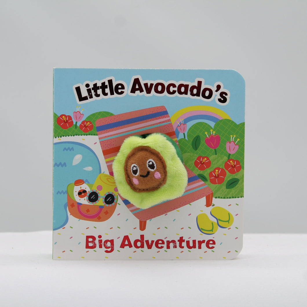 Little avocado finger puppet book